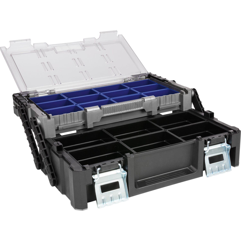 LUX Werkzeugbox mit Sortierkasten Professional | Baumarkt > Werkzeug > Werkzeug-Sets | Metall | LUX-TOOLS