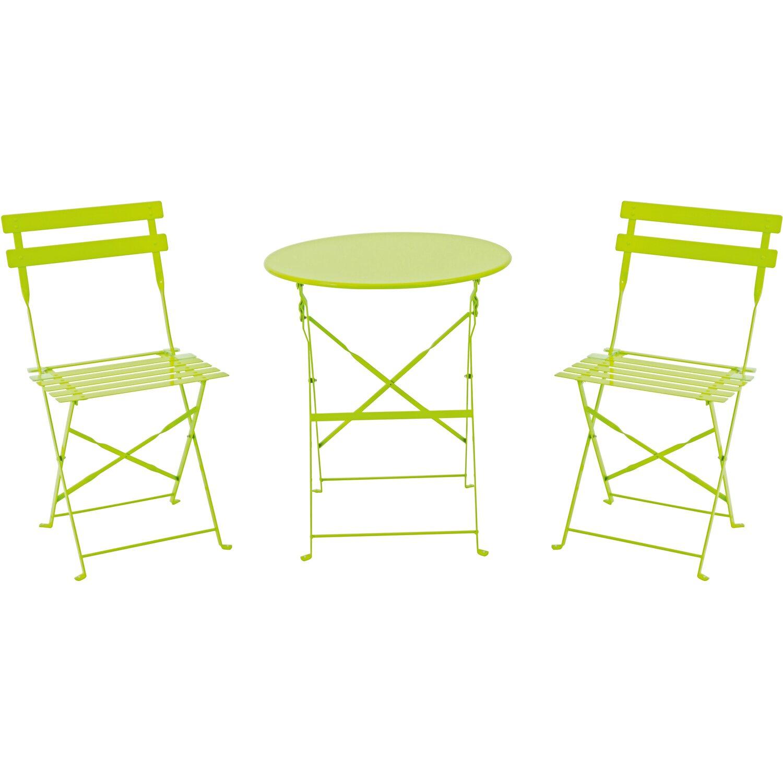 Bistro Set Grün 3-teilig kaufen bei OBI