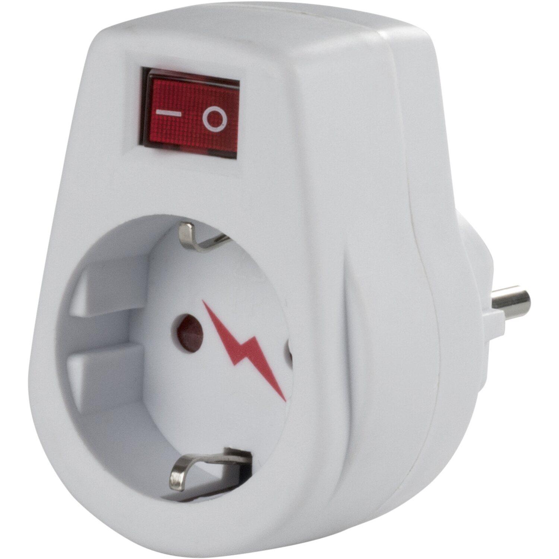 obi adapter mit berspannungsschutz kaufen bei obi. Black Bedroom Furniture Sets. Home Design Ideas