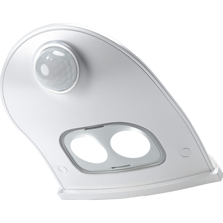 1,6 Watt Door LED mit Bewegungsmelder in weiß für den Innen und Außenbereich
