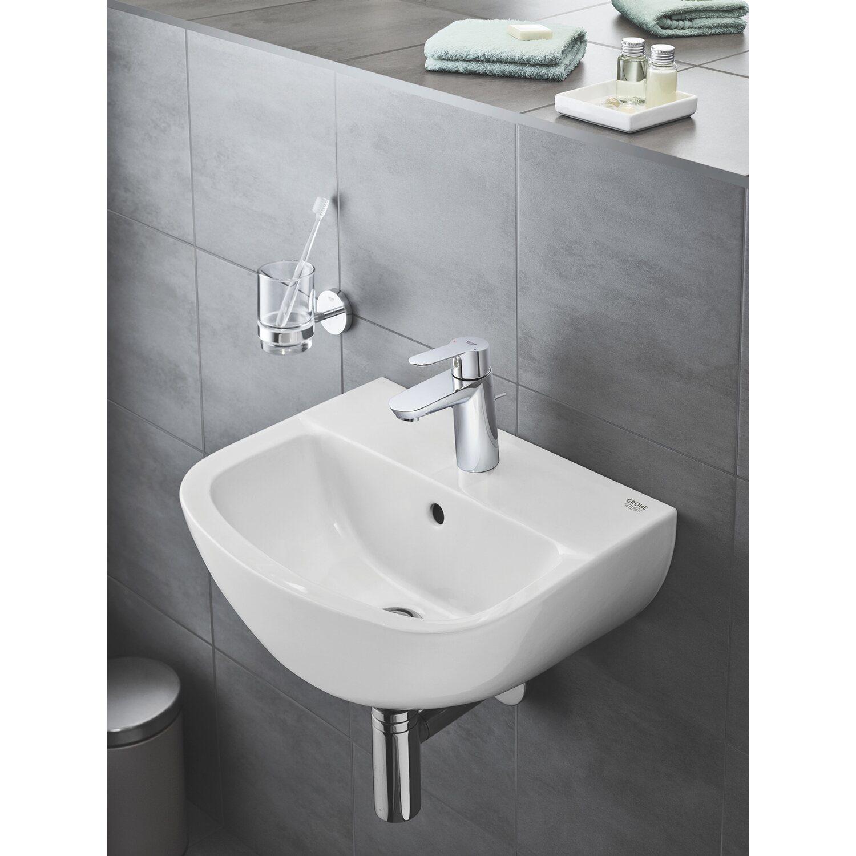Grohe Handwaschbecken Bau Keramik 45 Cm Weiss Kaufen Bei Obi