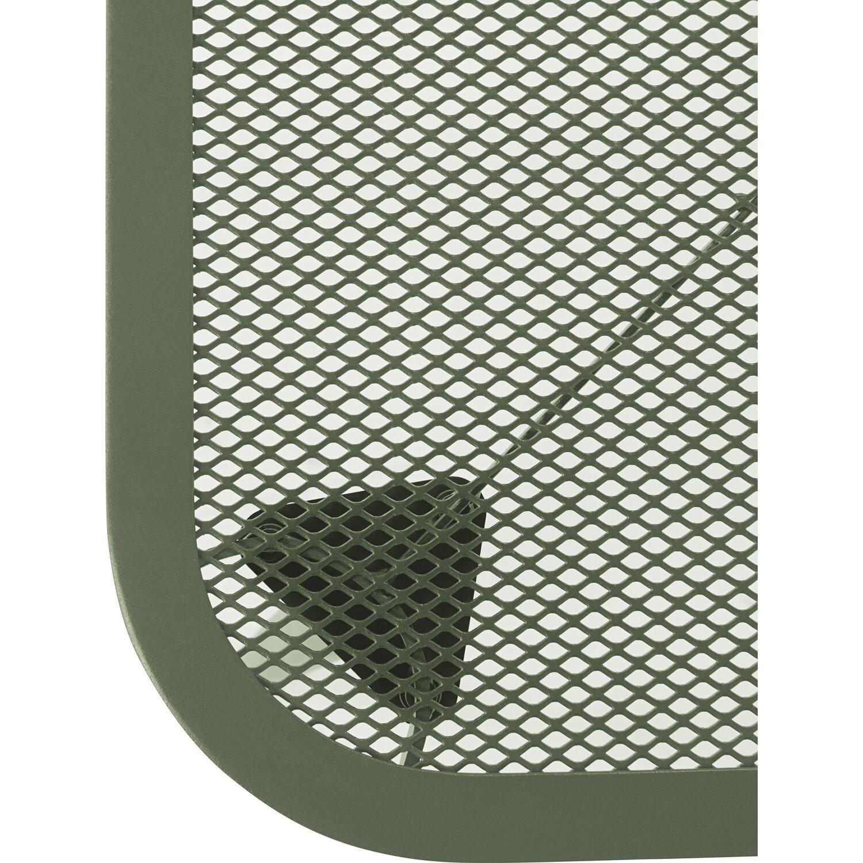 Gartentisch Punta Gorda Stahlgeflecht 60 Cm X 90 Cm Oliv Kaufen Bei Obi