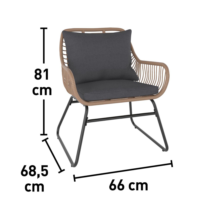 Balkonmöbel Set 3 Teilig 2021