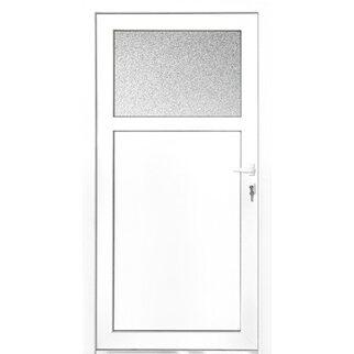 Nebeneingangstür kaufen  Kunststoff-Nebeneingangstür 98 cm x 198 cm K501 DIN Links Weiß ...