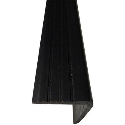 Winkelprofil 20 Mm X 25 Mm Schwarz 1000 Mm Kaufen Bei Obi