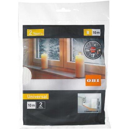 obi t rdichtung fensterdichtung aus schaumstoff wei kaufen bei obi. Black Bedroom Furniture Sets. Home Design Ideas