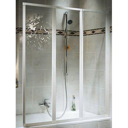 schulte badewannenaufsatz 3 teilig echtglas alunatur kaufen bei obi. Black Bedroom Furniture Sets. Home Design Ideas