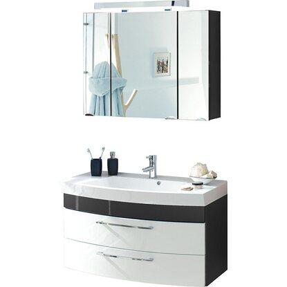 posseik badm bel set rima anthrazit wei 3 teilig eek a kaufen bei obi. Black Bedroom Furniture Sets. Home Design Ideas