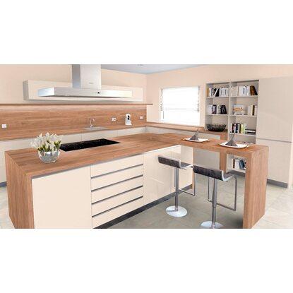 arbeitsplatte 65 cm x 3 9 cm nussbaum hell rustikal nu370pof kaufen bei obi. Black Bedroom Furniture Sets. Home Design Ideas