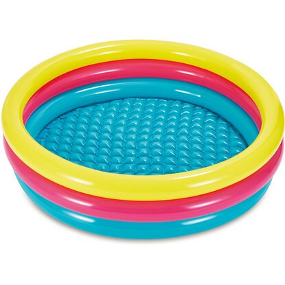 Summer Waves Bunter 3-Ring-Pool