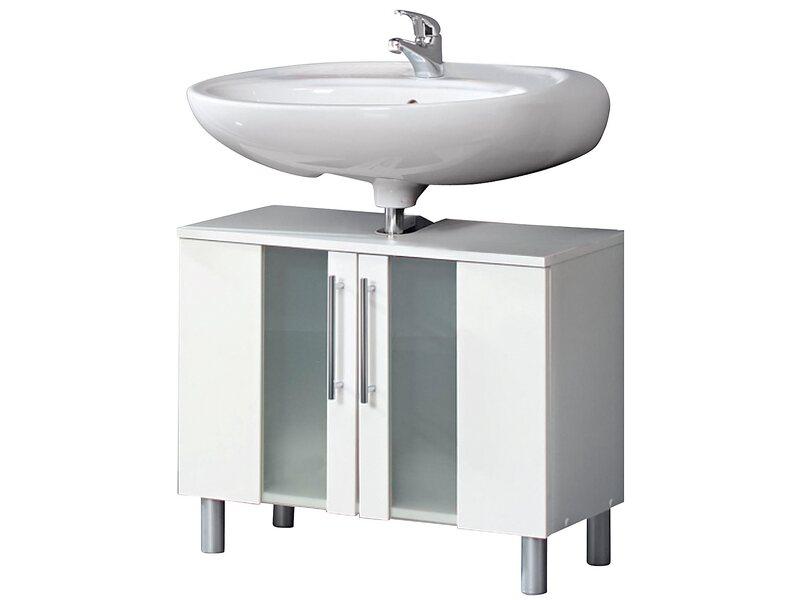 kesper waschbeckenunterschrank trento mit 2 t ren wei. Black Bedroom Furniture Sets. Home Design Ideas