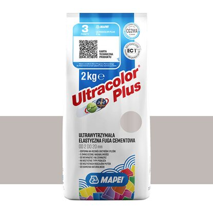 Mapei Fuga elastyczna UltraColor Plus 110 manhattan 2000