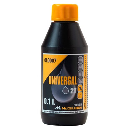 McCulloch Olej do pilarek Universal 2T 100 ml