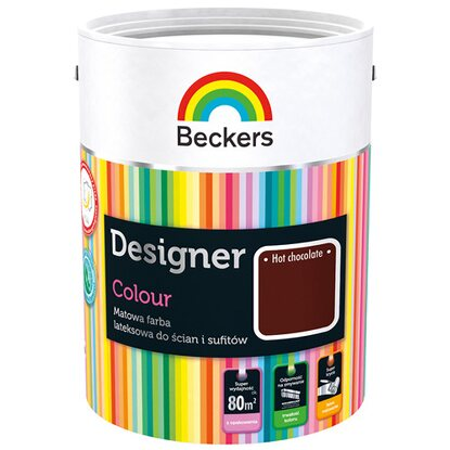 Beckers Emulsja lateksowa Designer hot chocolate 2,5 l