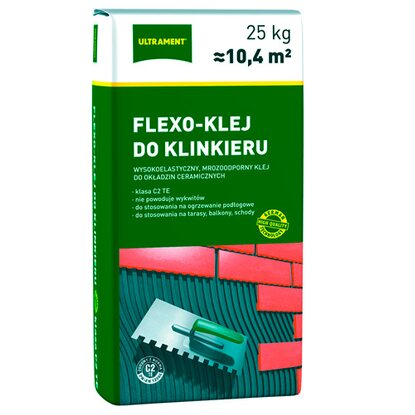 Ultrament Flexo-klej do klinkieru 25 kg