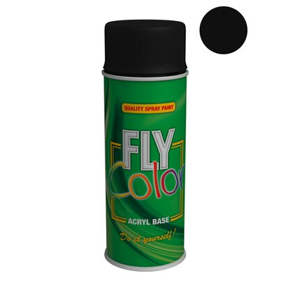 Dupli-Color Lakier FLY Color RAL 9005 matowy 400 ml