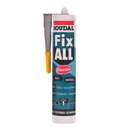Soudal Klej Fix All Classic szary