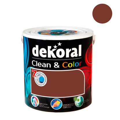 Dekoral Emulsja Clean & Color czekofashion 2,5 l