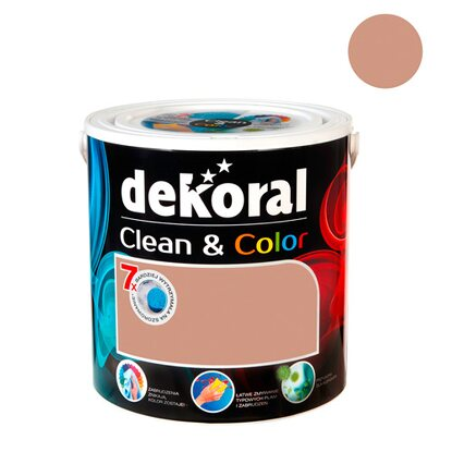 Dekoral Emulsja Clean & Color kawowy aromat 2,5 l