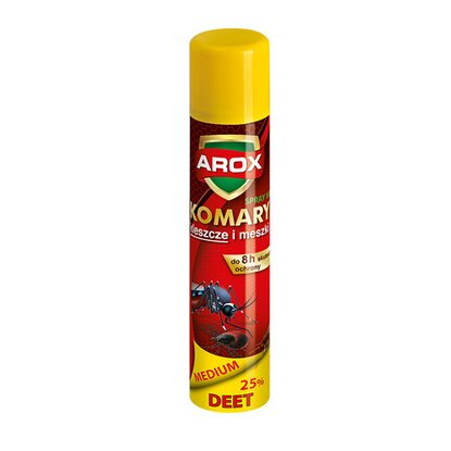 Arox Spray DEET Medium na komary, kleszcze i meszki 90 ml