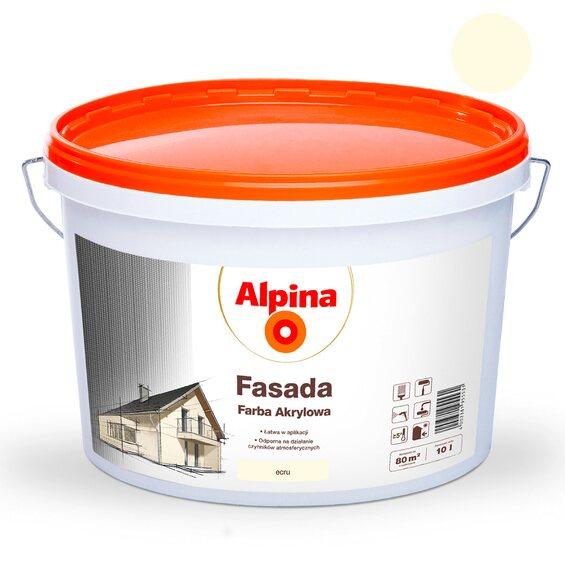alpina emulsja fasadowa ecru 10 l w marketach obi. Black Bedroom Furniture Sets. Home Design Ideas