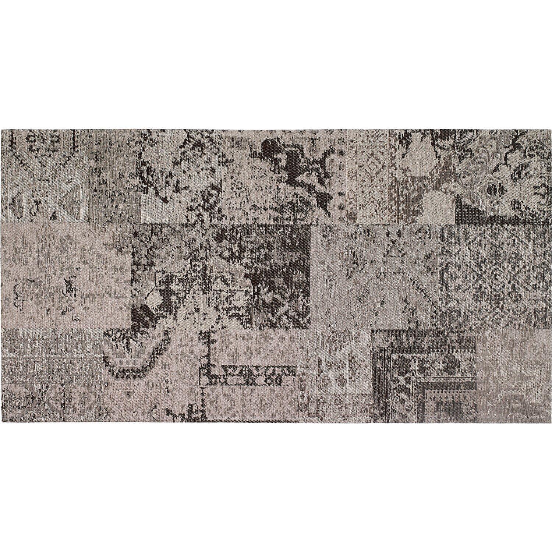 OBI  Teppich Molus Anthrazit 140 cm x 200 cm