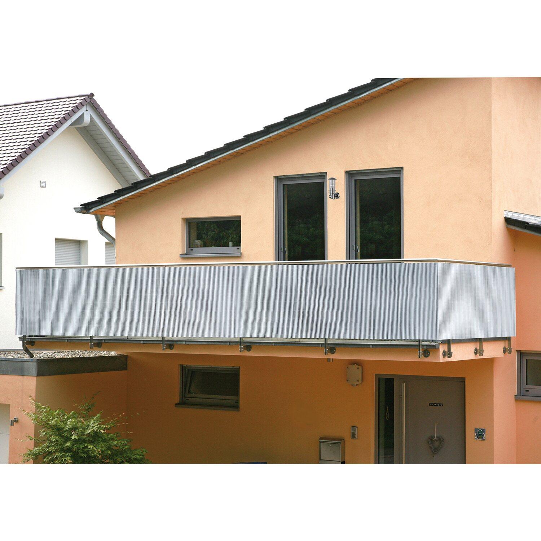 Balkonverkleidung Comfort Silber 180 Cm X 300 Cm Kaufen Bei Obi