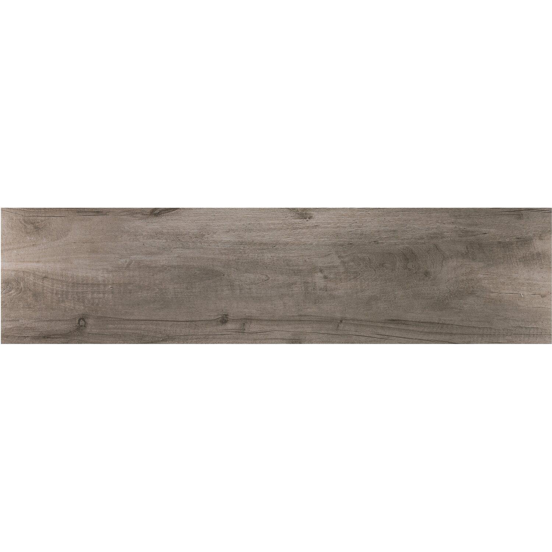 Feinsteinzeug Terrassenplatte Timberwood Grey 120 Cm X 30 Cm X 2 Cm
