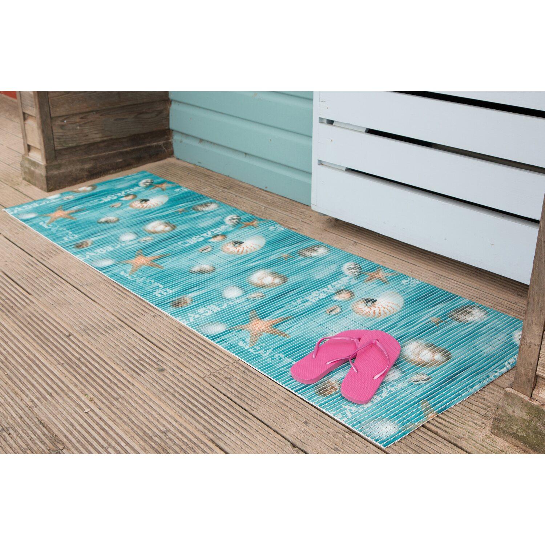 d-c-floor Badezimmer-Matte Comfort Seaside 65 cm breit Meterware ...