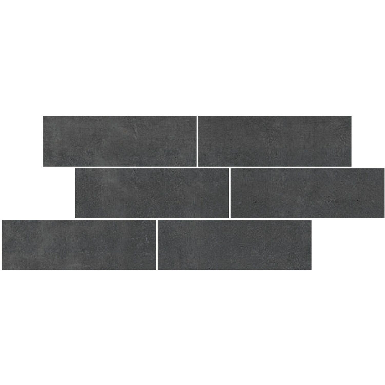 Maxi Keramik Bordüre Stonetouch 20 cm x 40 cm Brick Anthrazit | Baumarkt > Wand und Decke > Bordüren