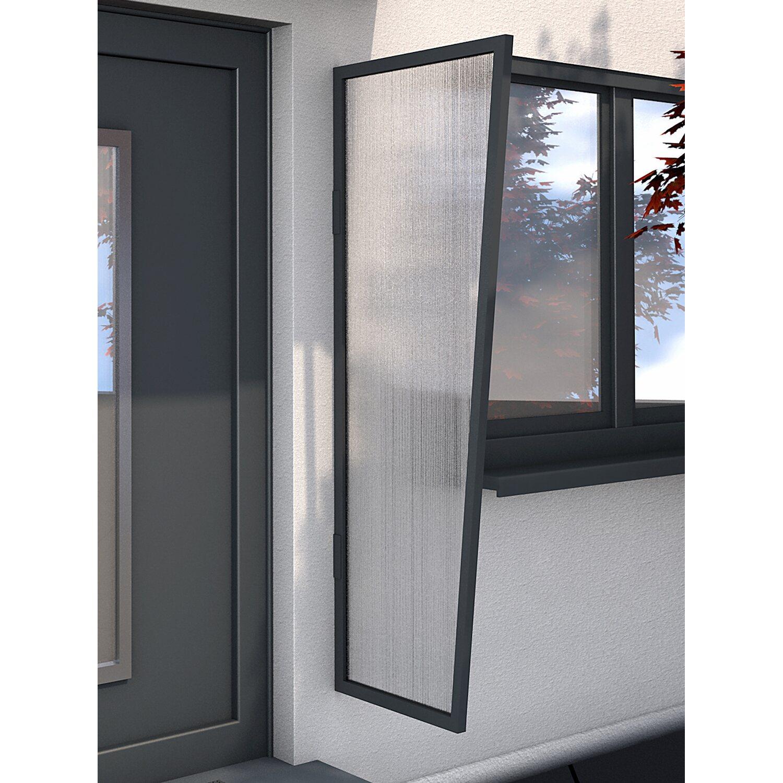 Gutta  Seitenblende »B2 PC klar«, BxH: 60x175 cm, anthrazit-transparent