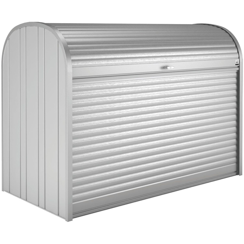 Biohort StoreMax 190 Gartenbox Silber-Metallic | Garten > Gartenmöbel > Aufbewahrung | Biohort