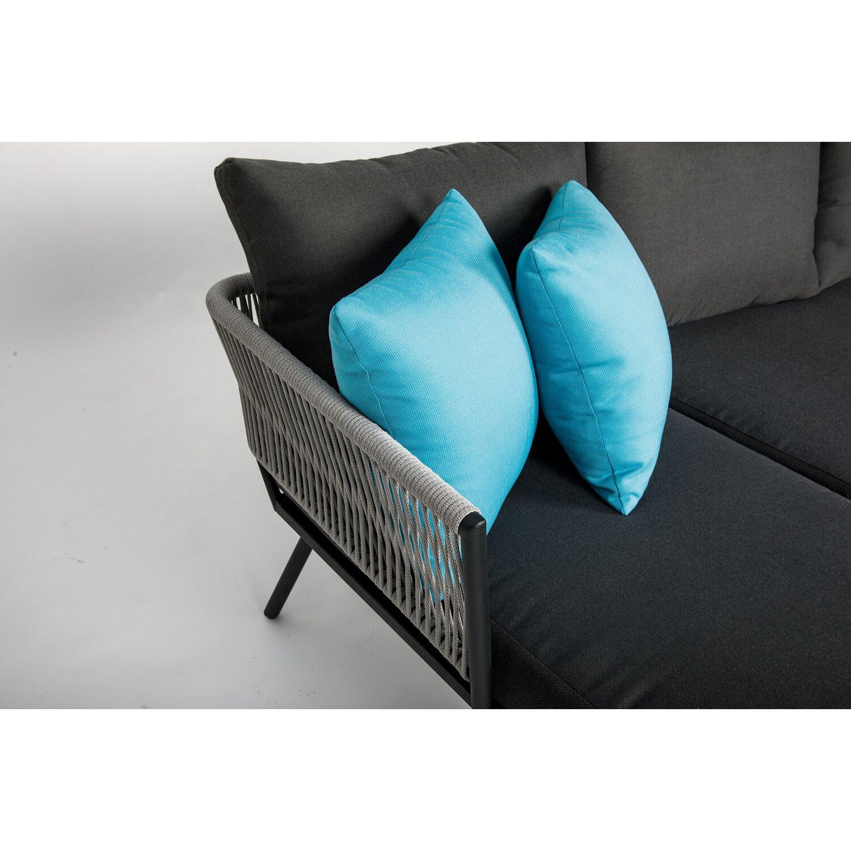 Couch Auflagen: OBI Sofa-Gruppe Willow Lake Inkl. Auflagen Und Kissen 3