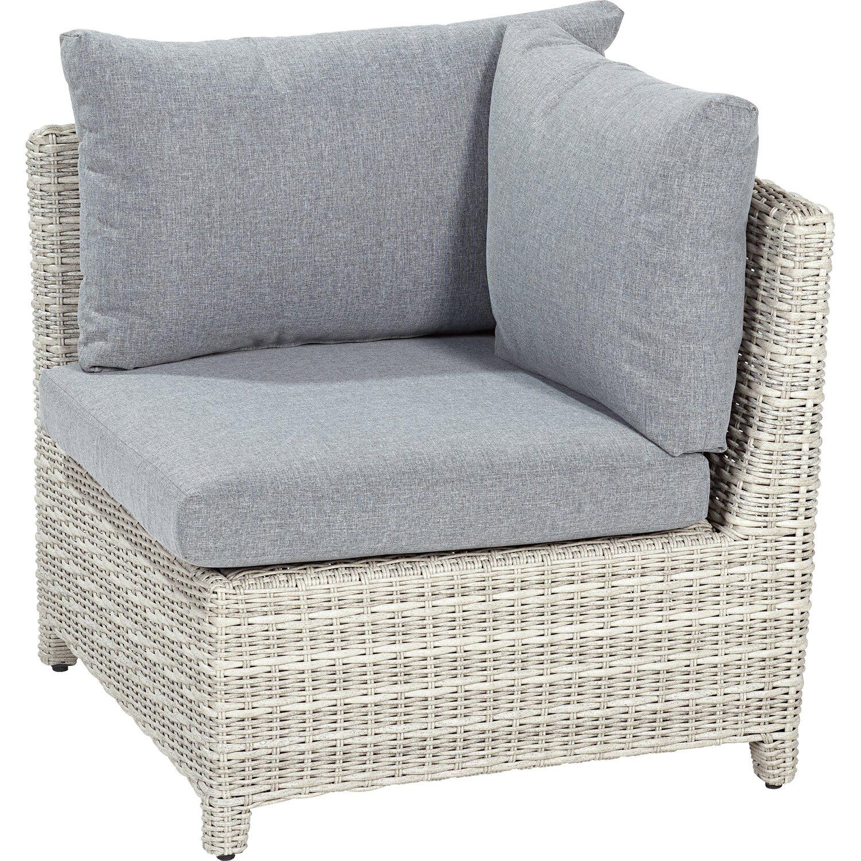 obi lounge eckteil rechts springside polyrattan naturgrau kaufen bei obi. Black Bedroom Furniture Sets. Home Design Ideas