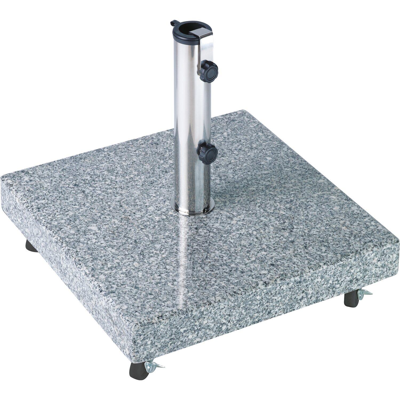 Sonnenschirmständer granit mit rollen