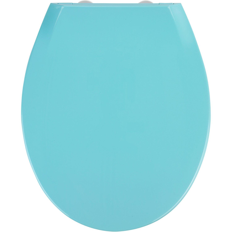 Häufig Wenko WC-Sitz Kos Blau mit Absenkautomatik kaufen bei OBI BP29