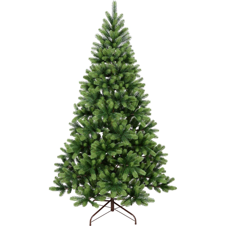 k nstlicher weihnachtsbaum nagano 210 cm mit metallst nder kaufen bei obi. Black Bedroom Furniture Sets. Home Design Ideas