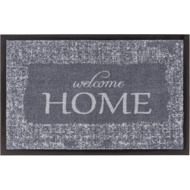 Astra Sauberlaufmatte Homelike 20 x 20 cm Welcome Home grau