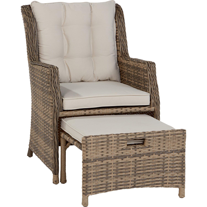 lounge sessel yorktown polyrattan geflecht 2 teilig kaufen. Black Bedroom Furniture Sets. Home Design Ideas