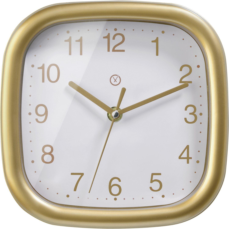 Sompex Clocks Wanduhr Bergen Gold-Weiß