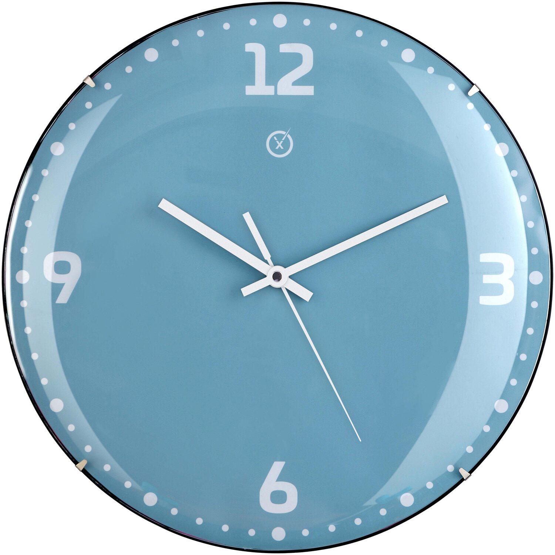 Sompex Clocks Wanduhr Rio Dome Türkis kaufen bei OBI