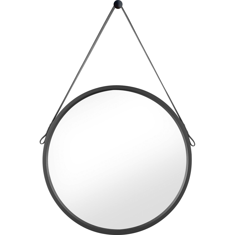 Spiegel rund Ø 50 cm Schwarz kaufen bei OBI