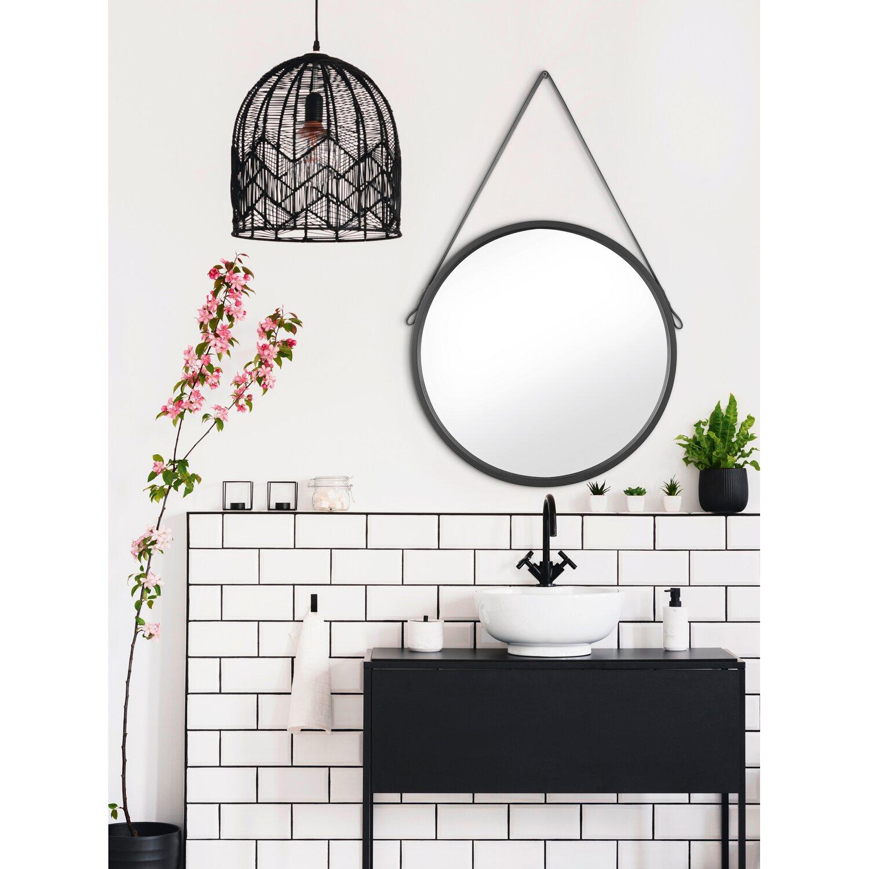 Spiegel Rund O 50 Cm Schwarz Kaufen Bei Obi