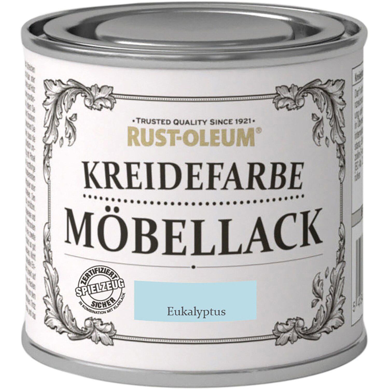 Rust-Oleum Möbellack Kreidefarbe Eukalyptus Matt 125 ml