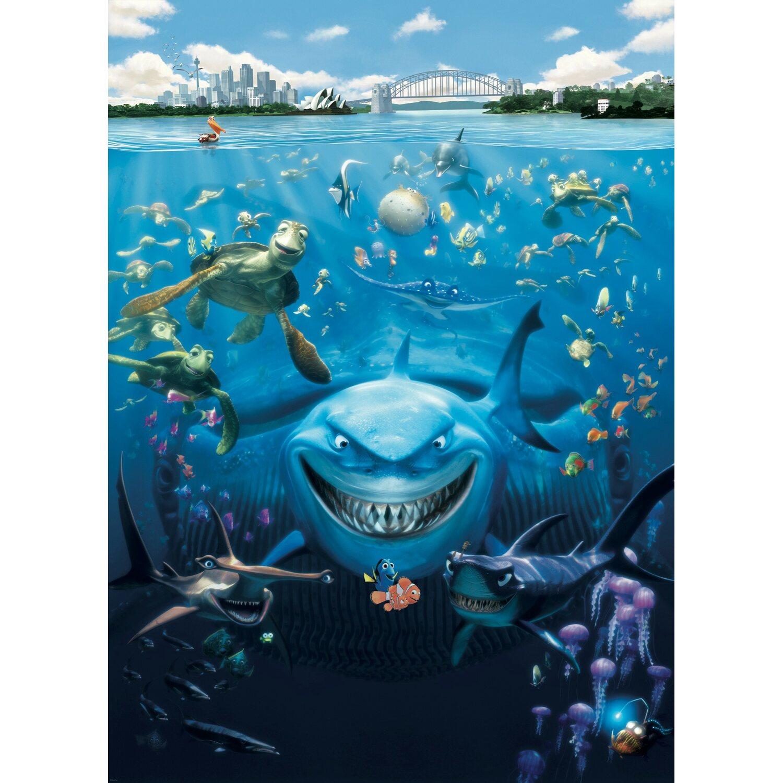 Komar Fototapete Disney Nemo 184 cm x 254 cm