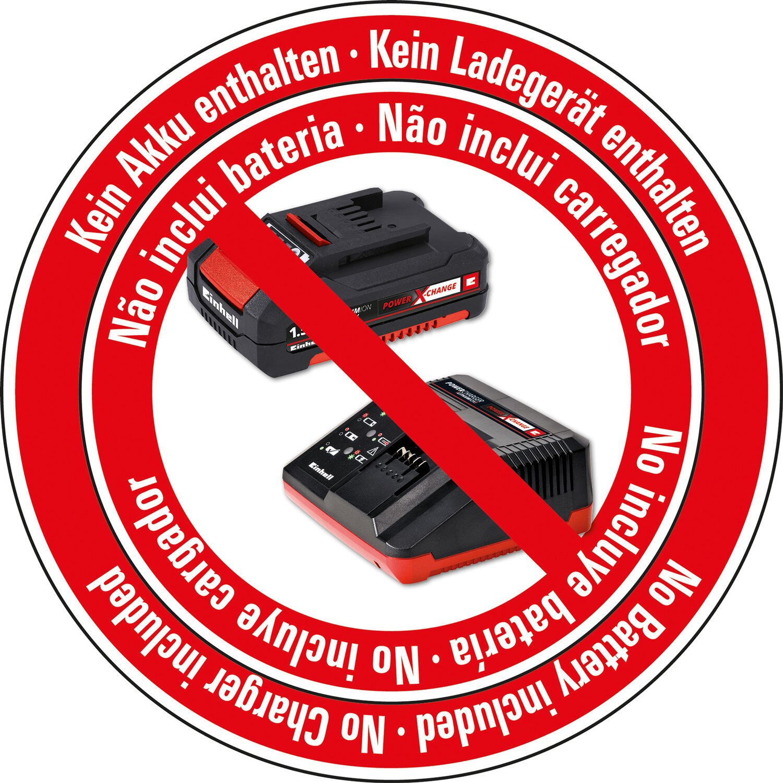 Li-Ion, 18 V, 4000 min^-1, Tiefenanschlag, Dauerbetrieb, inkl. 2,5 Ah Akku und Ladeger/ät, inkl. Koffer E-Box S35 Einhell Akku-Trockenbauschrauber TE-DY 18 Li Power X-Change