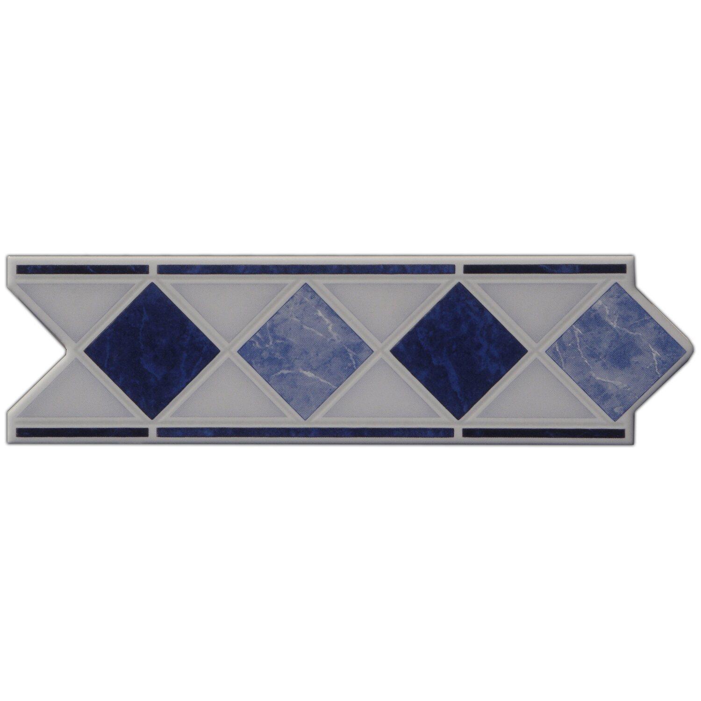 Sonstige Bordüre Marmol Blau 6 cm x 20 cm