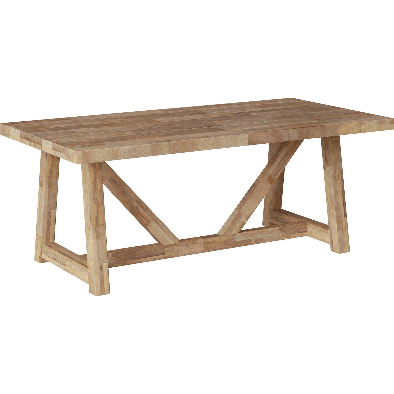 Gartentisch Tanami Rechteckig Fsc Teakoptik 200 Cm X 100 Cm Kaufen Bei Obi