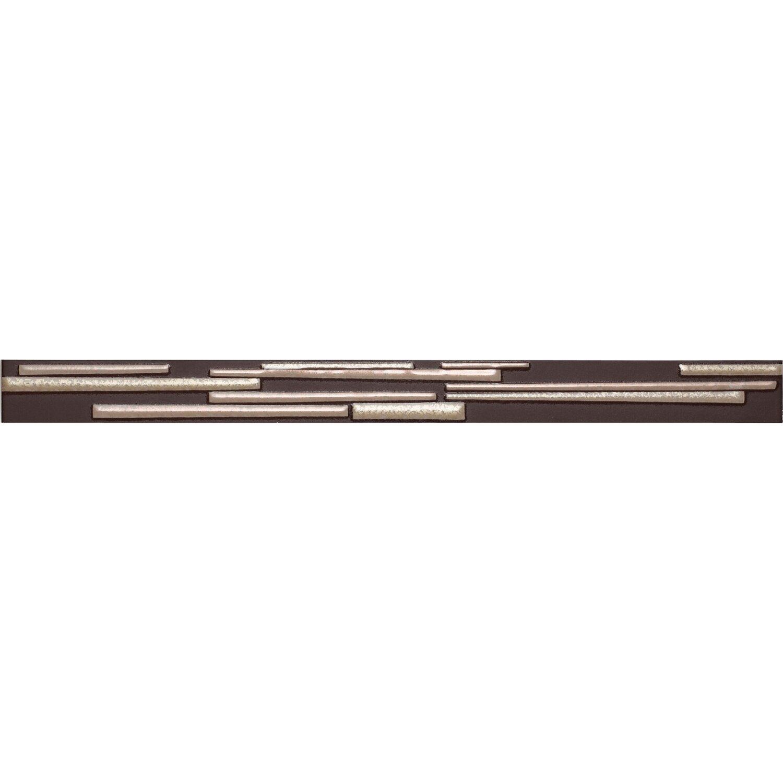 Sonstige Bordüre Brick Creme Matt Mauer-Optik 4 cm x 50 cm