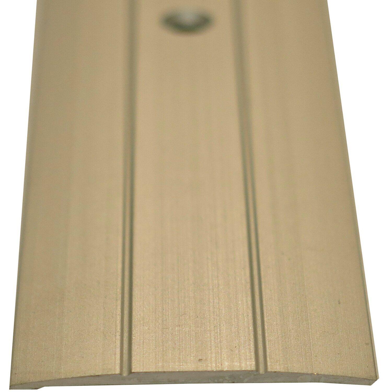 Übergangsprofil gelocht 2 rillen 38 mm x 5 mm silber 2500 mm kaufen
